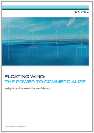 Floating Offshore Wind: the power to commercialize report cover