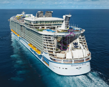 Harmony of the Seas joins DNV GL fleet