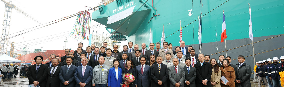 PFLNG SATU - FLNG named with DNV GL class in Korea
