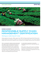 Responsible Supply Chain Management Certification