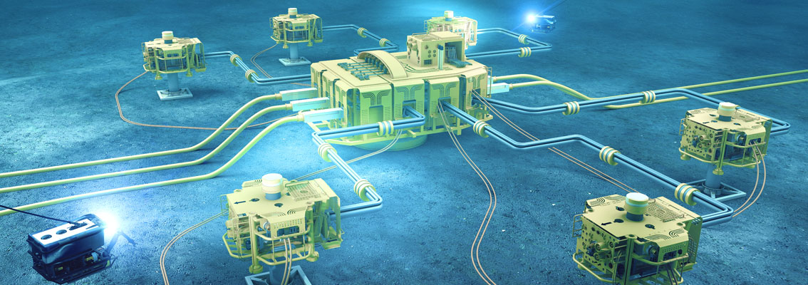 Subsea installations (illustration)